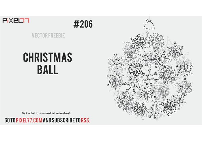 Free Vector of the Day #206: Christmas Ball