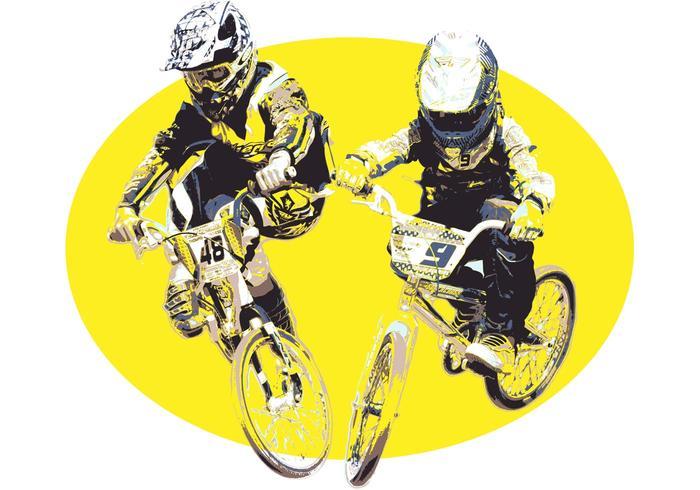 Vector BMX Jumper