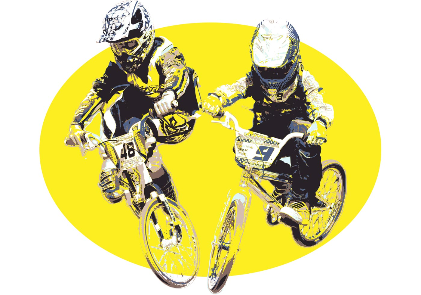 Vector BMX Jumper - Do...