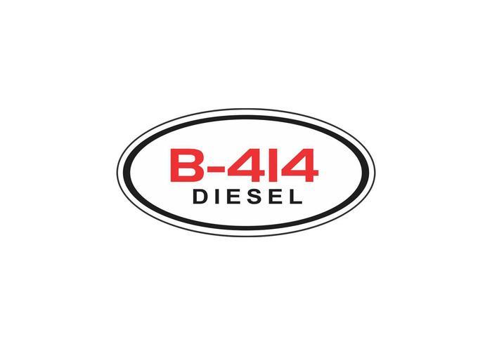 Harvester International B-414 Diesel Logo