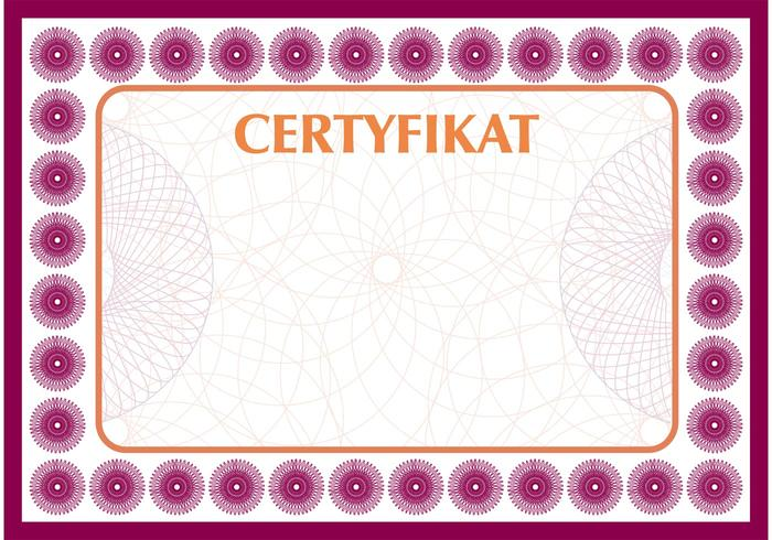 Certificate vector free vector art at vecteezy for Smartdraw certificate templates