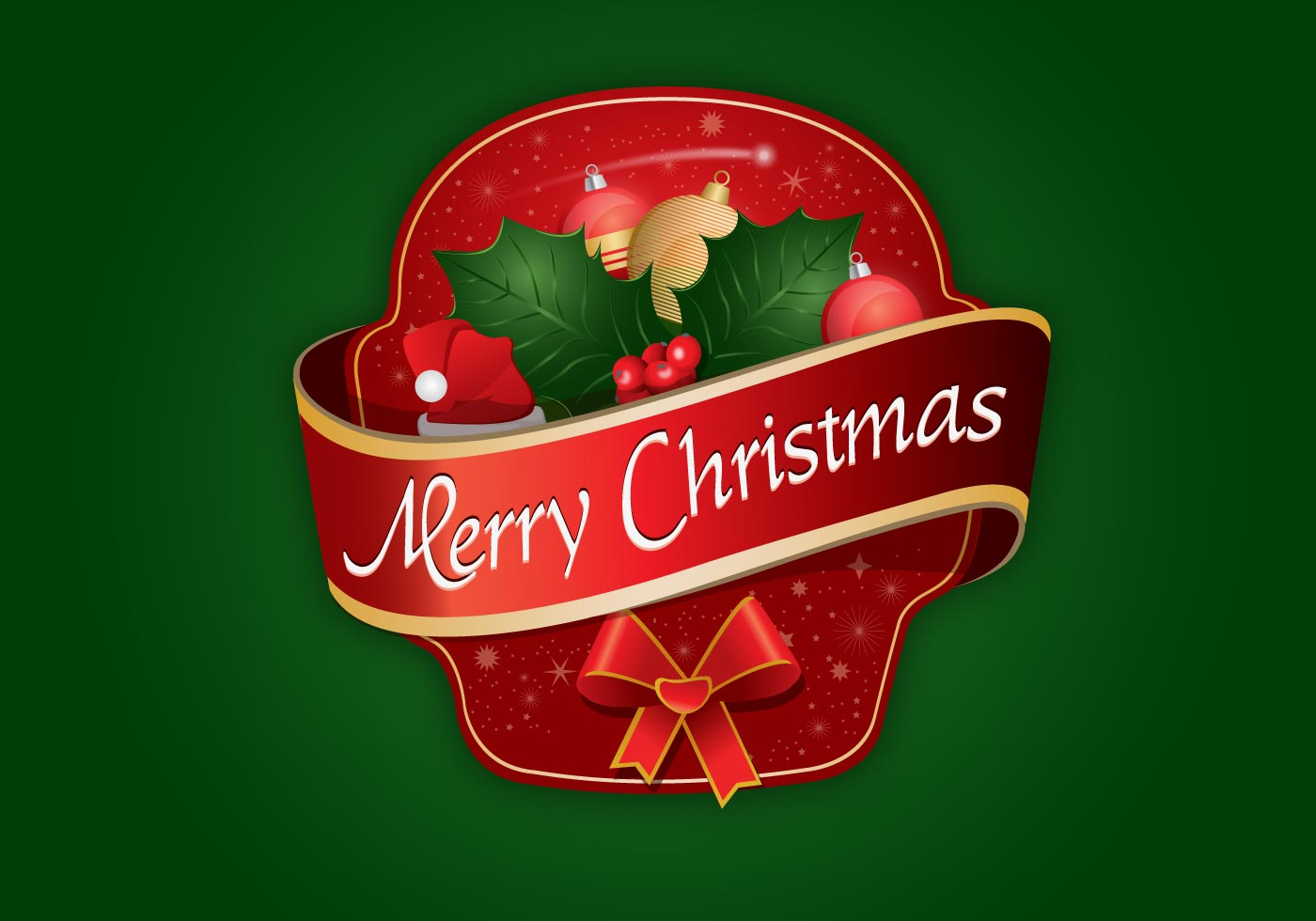merry christmas label logo download free vector art stock graphics images - Merry Christmas Logos