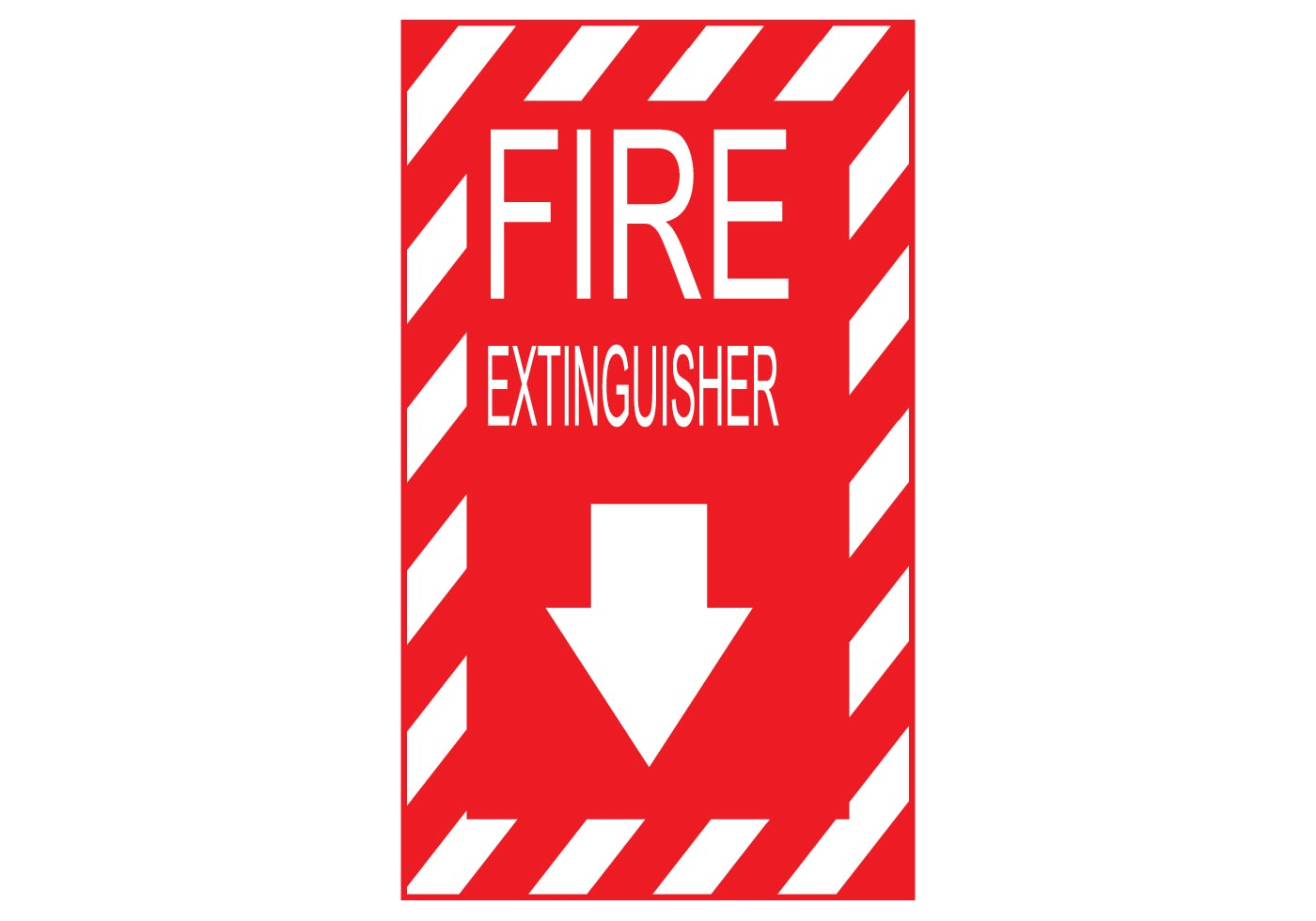 fire extinguisher sign vector free vector art at vecteezy