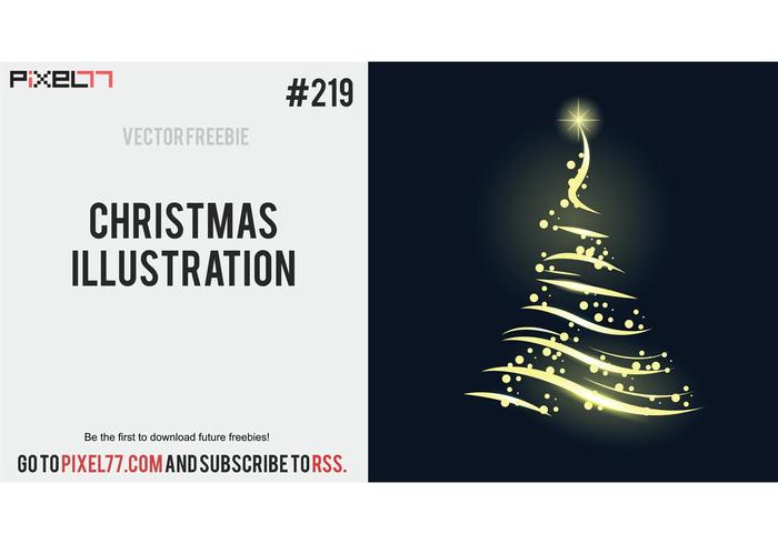 Free Vector of the Day #219: Christmas Illustration