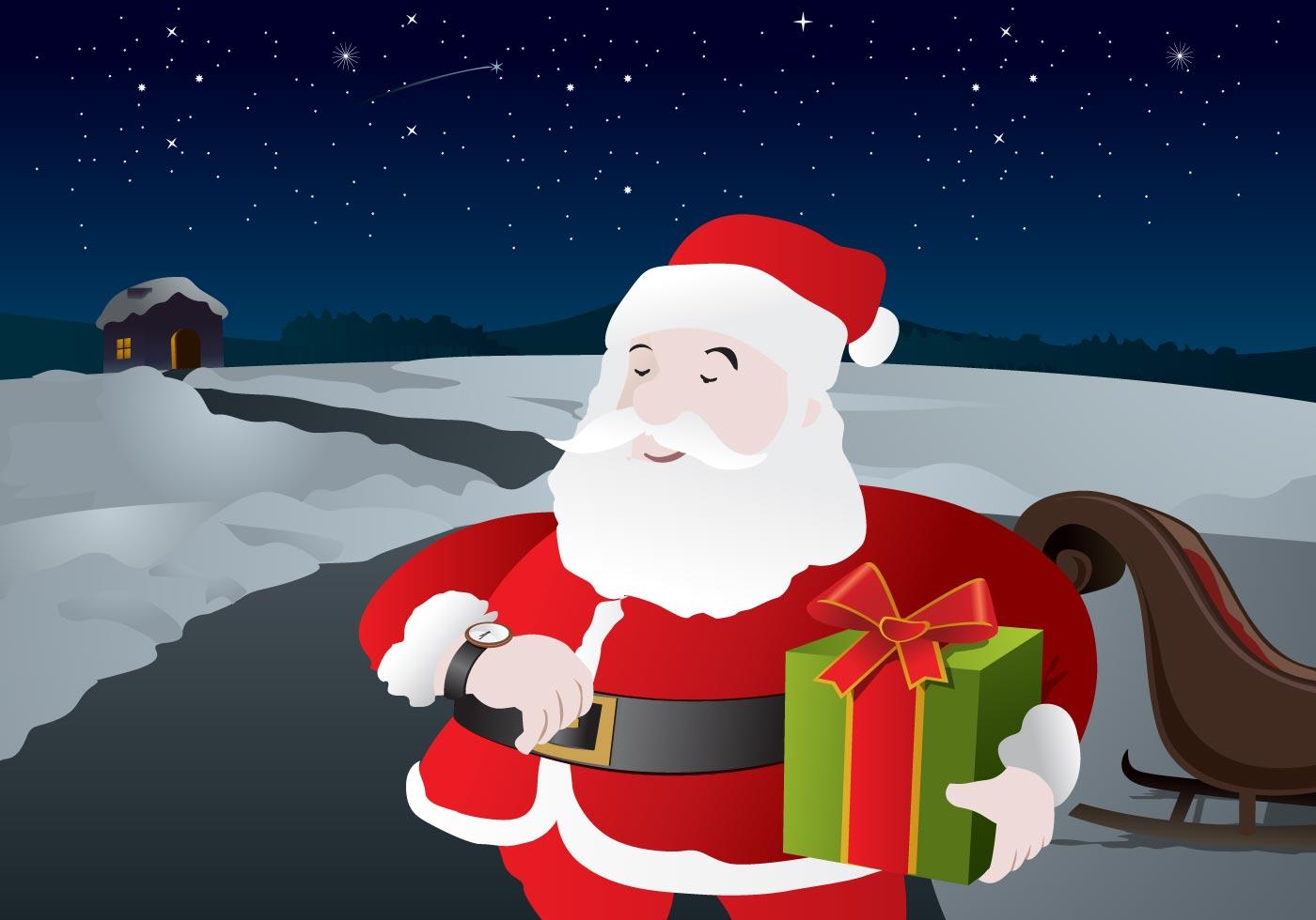 Santa Claus Vector Download Free Vector Art Stock
