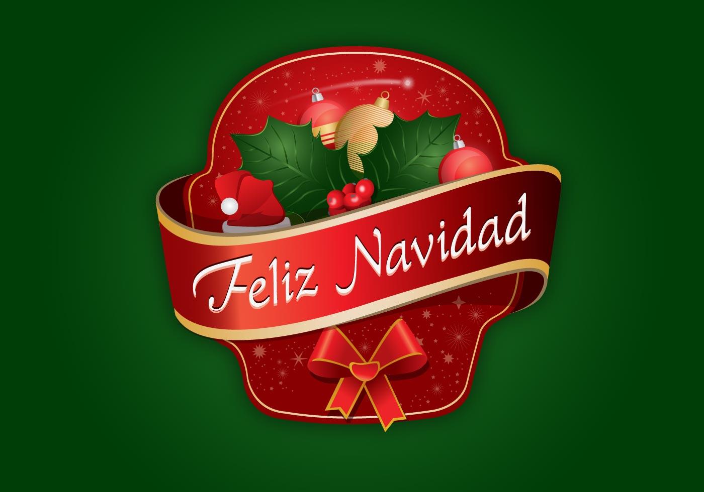 Etiqueta Feliz Navidad Vector Free Vector Art At Vecteezy