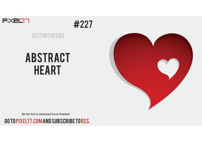 Abstract Heart Vector - Free Vector of the Day#227