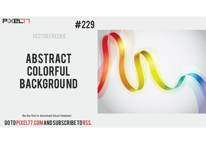 Abstract Colorful Background - Free Vector of the Day #229