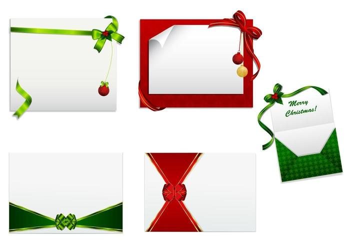Tarjeta de Navidad Vector Pack