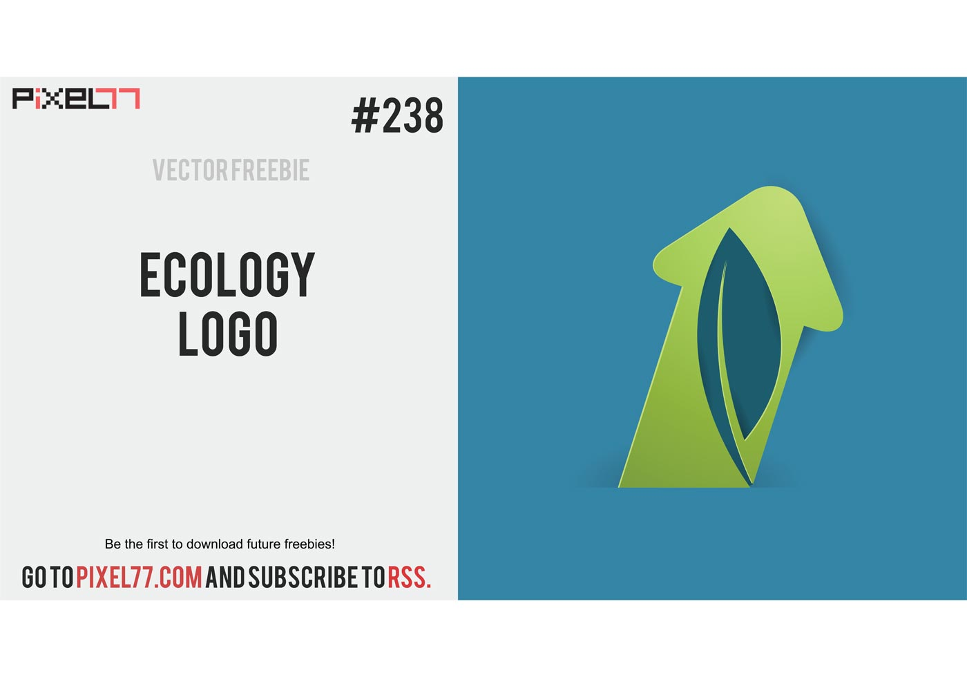 Free Vector of the Day #238: Ecology Logo - Download Free ...
