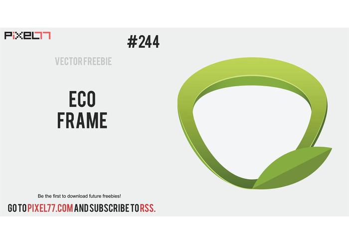 Free Vector of the Day #244: Eco Frame