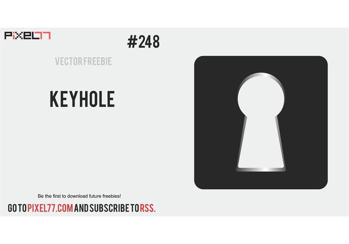 Keyhole Vector - Free Vector of the Day #248