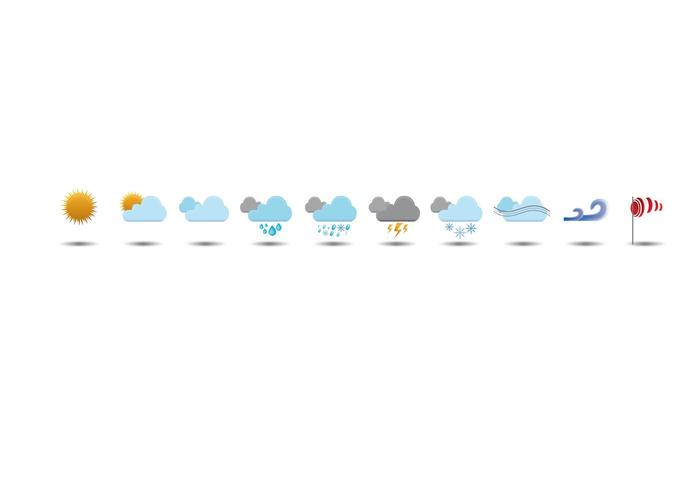Weather Vector Icons by AnotherWebStorm