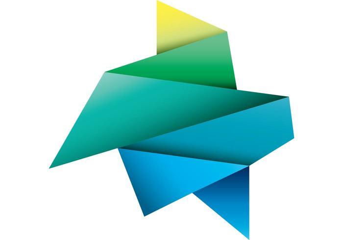 Origami Vector Icon