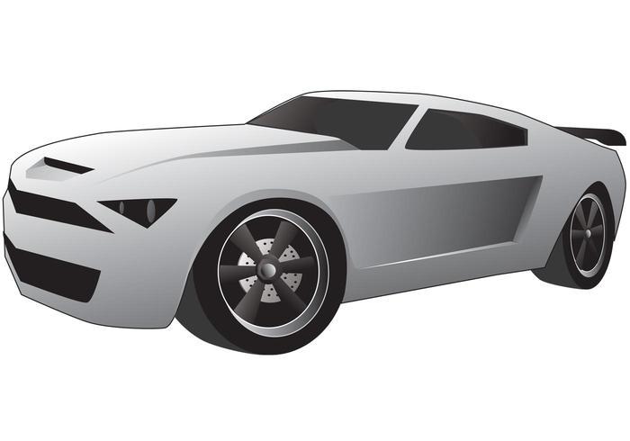 Car Vector Mustang 2013 Concept