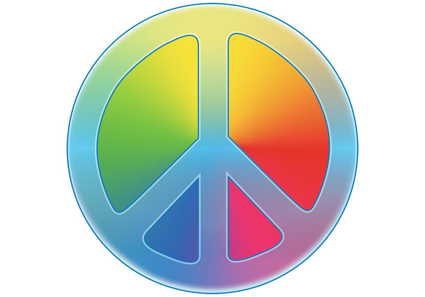 Peace Symbol Free Vector Art 28621 Free Downloads