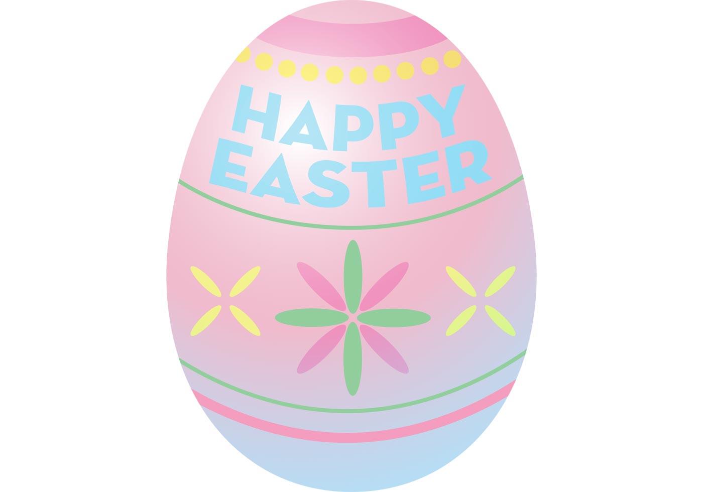 Easter Egg Vector Free Vector Art At Vecteezy