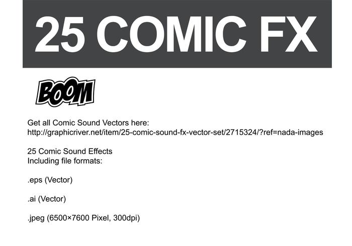 Comic Vector Sound FX