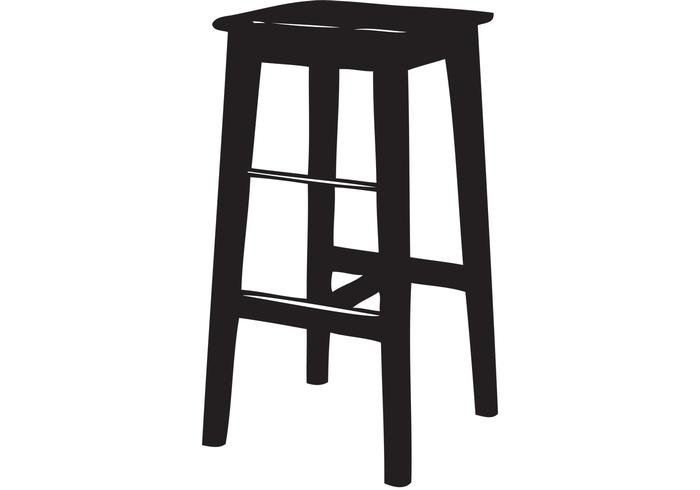 Bar Stool Vector Free Vector Art At Vecteezy