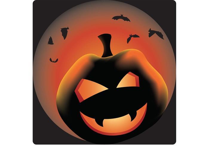 Evil Pumpkin Vector