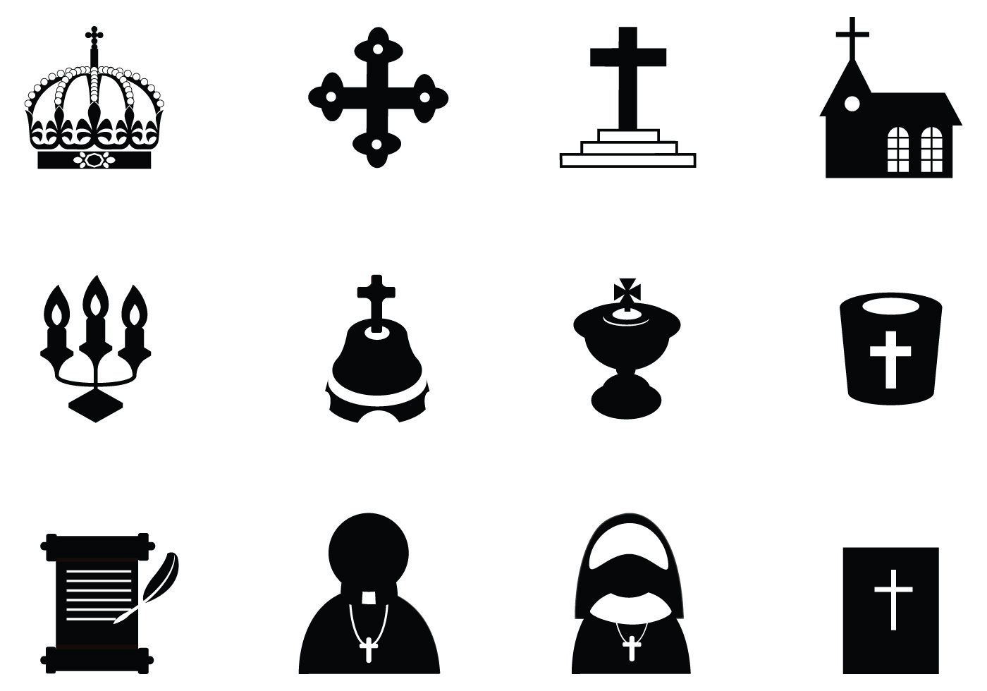 Christian Vector Icon Pack - Download Free Vectors ...