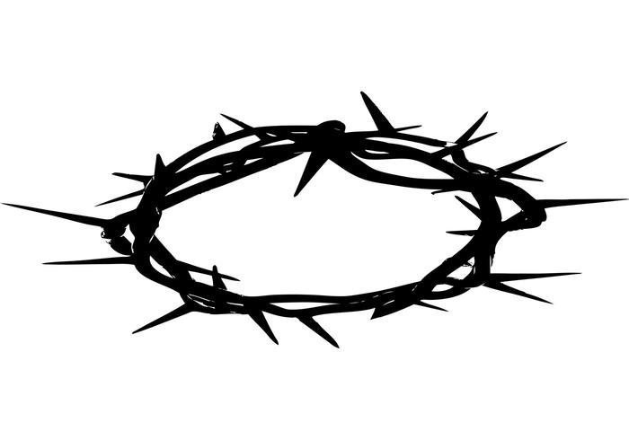 crown of thorns download free vector art stock graphics images rh vecteezy com jesus crown of thorns clipart crown of thorns clip art religion free