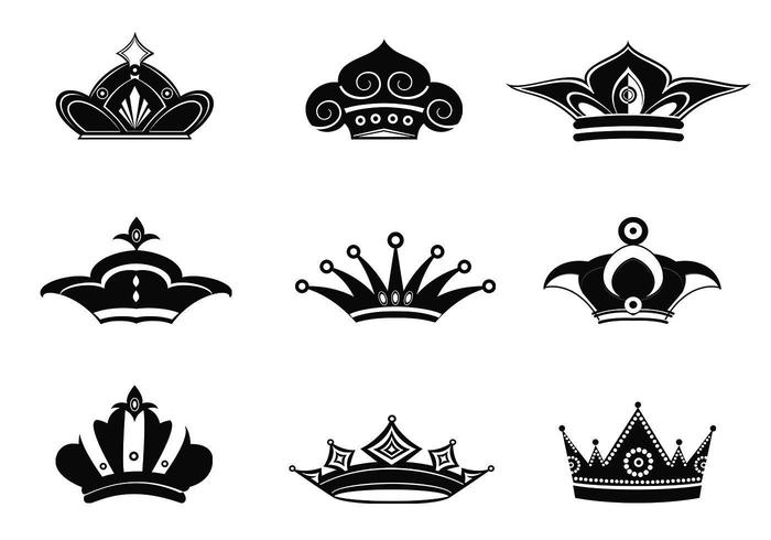Couronne Vector Pack