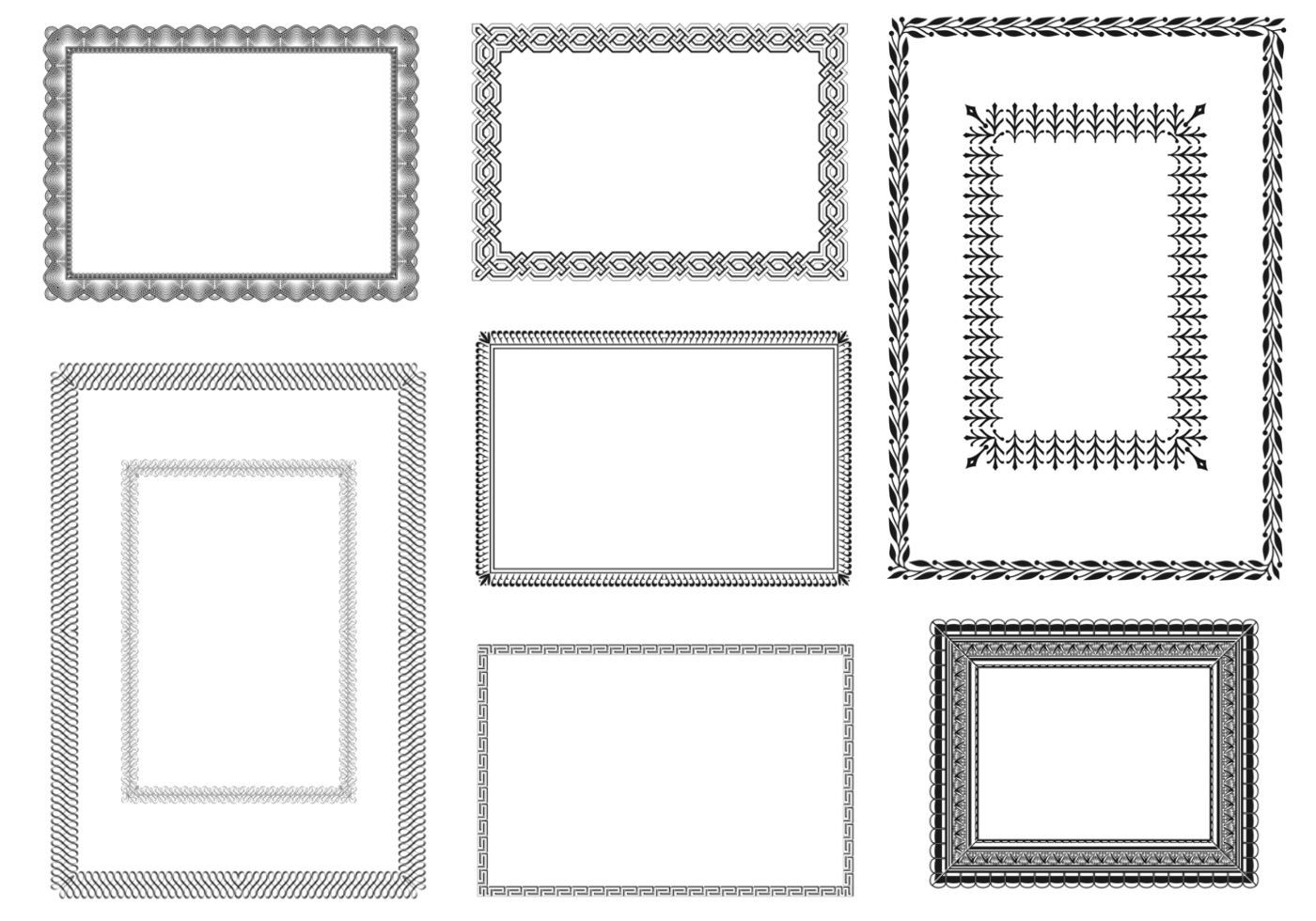 Certificate vector frames pack download free vector art stock certificate vector frames pack download free vector art stock graphics images 1betcityfo Gallery