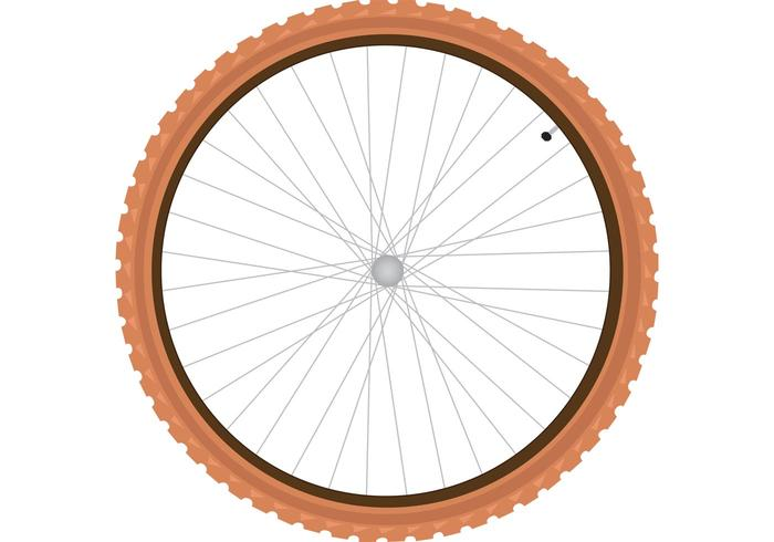 Bike Tire Vector