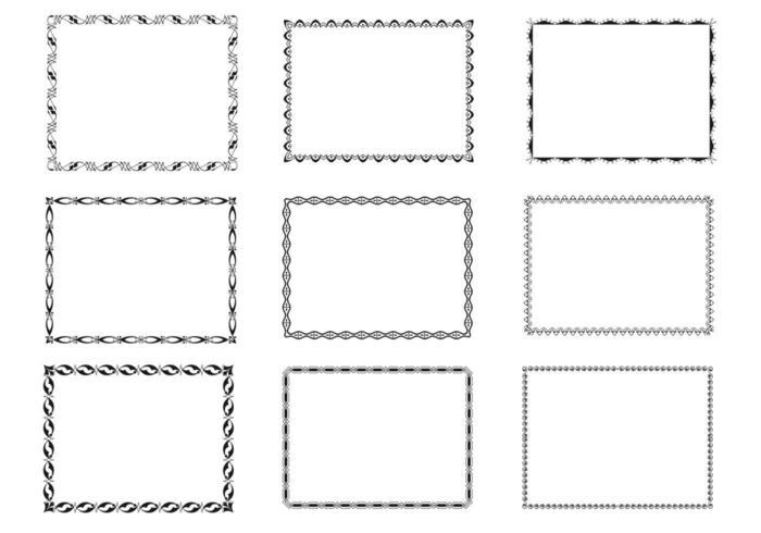 Funky Frames Vector Pack