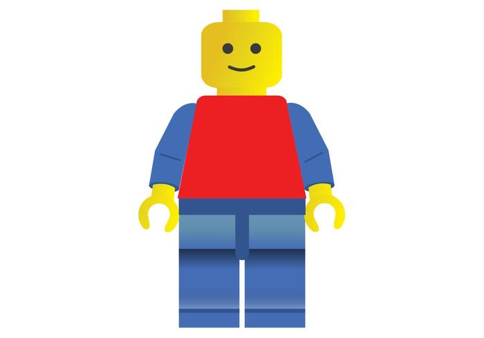 Free SVG Lego Vector Man