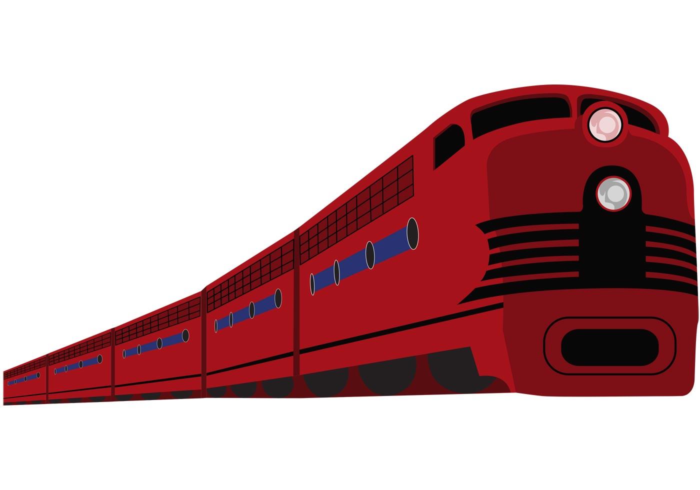 vector clipart train - photo #19