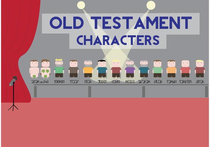 Old Testament Character Vectors