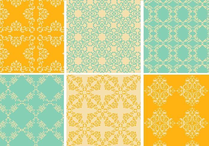Pack vectoriel Vintage Pattern