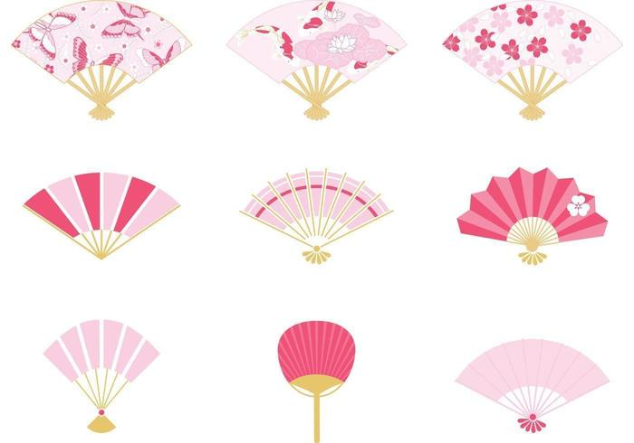 Japanse Fan Vector Pack