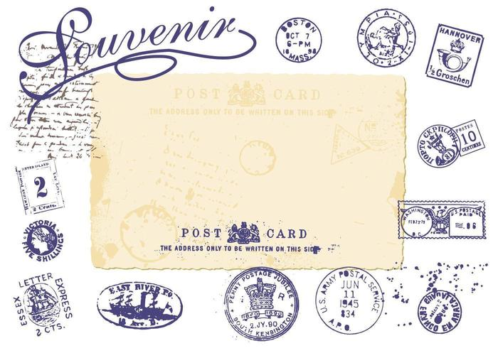 Vintage Stamp Vector Pack
