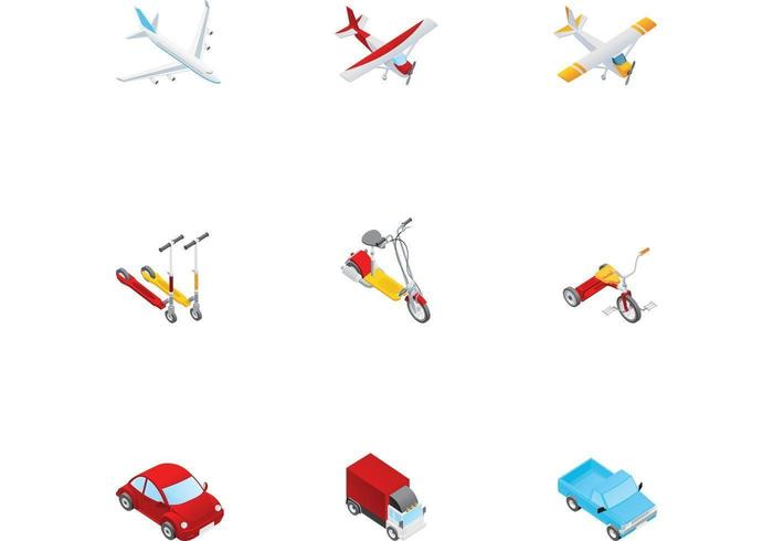 Various Transportation Vectors