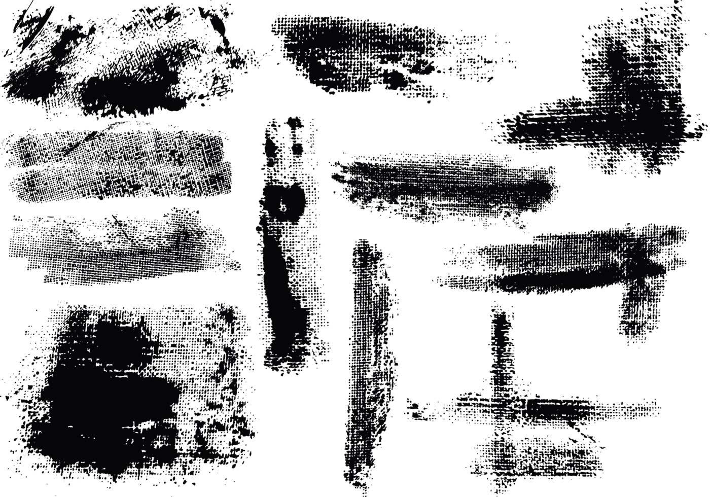 Grunge Texture Vector Pack - Download Free Vectors, Clipart Graphics & Vector Art