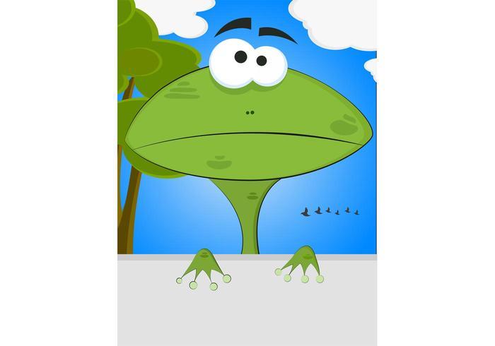 Hmmmm Frog Vector