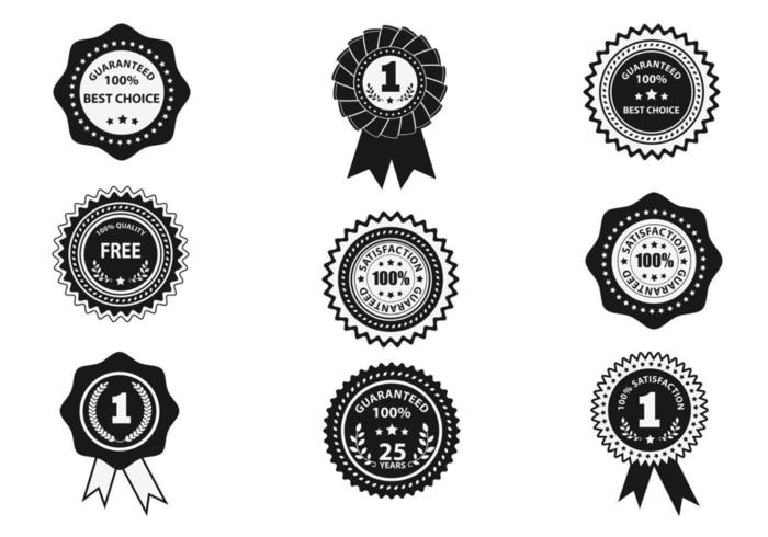 Guarantee Label Vector Pack