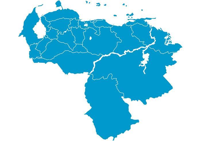 Venezuela Map Vector