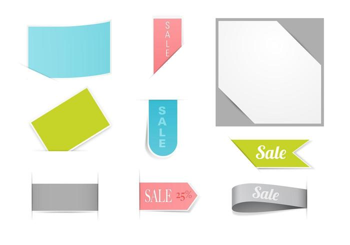 Business and Sale Tag Vector Pack