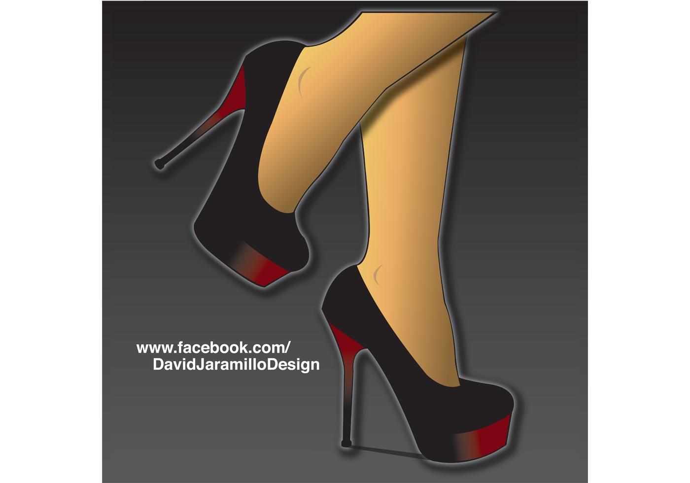 high heels vector free vector at vecteezy