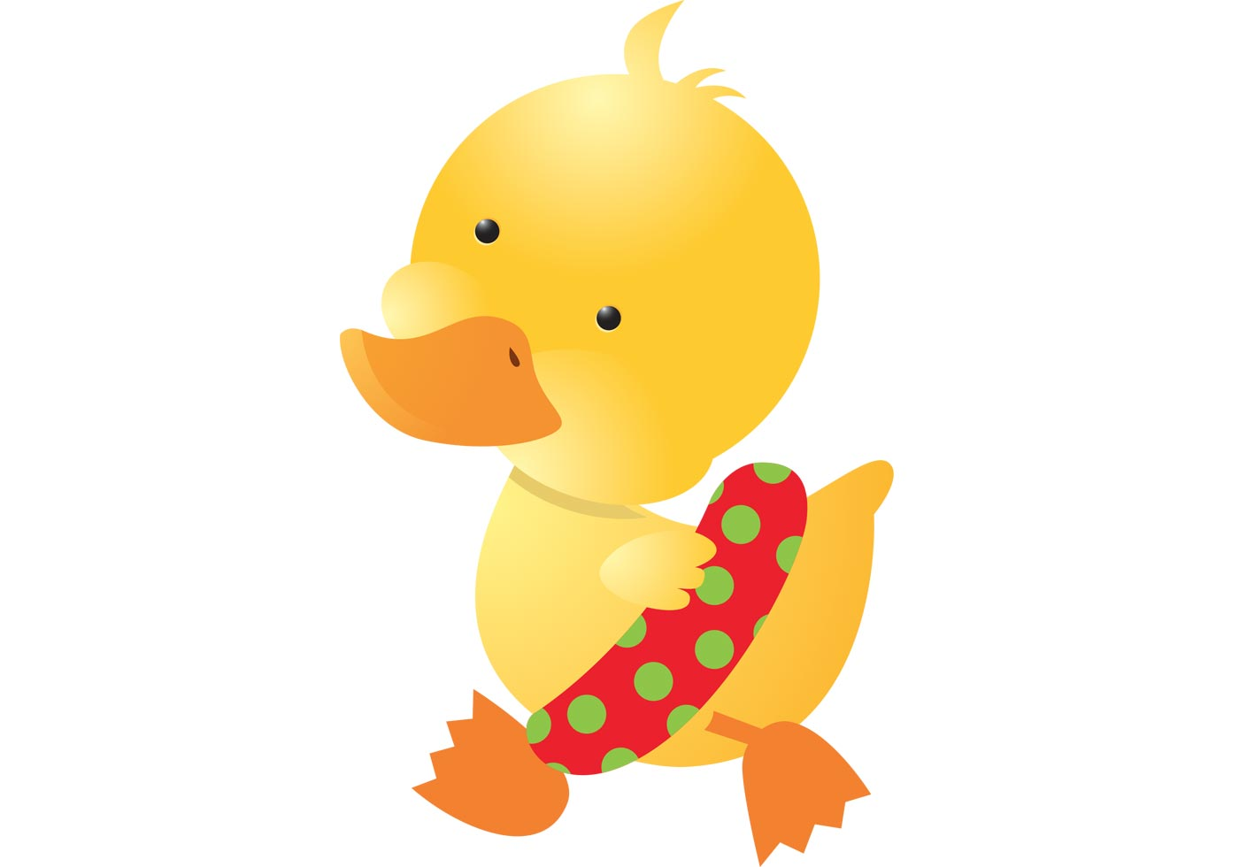 Baby Duck Vector Free Vector Art At Vecteezy