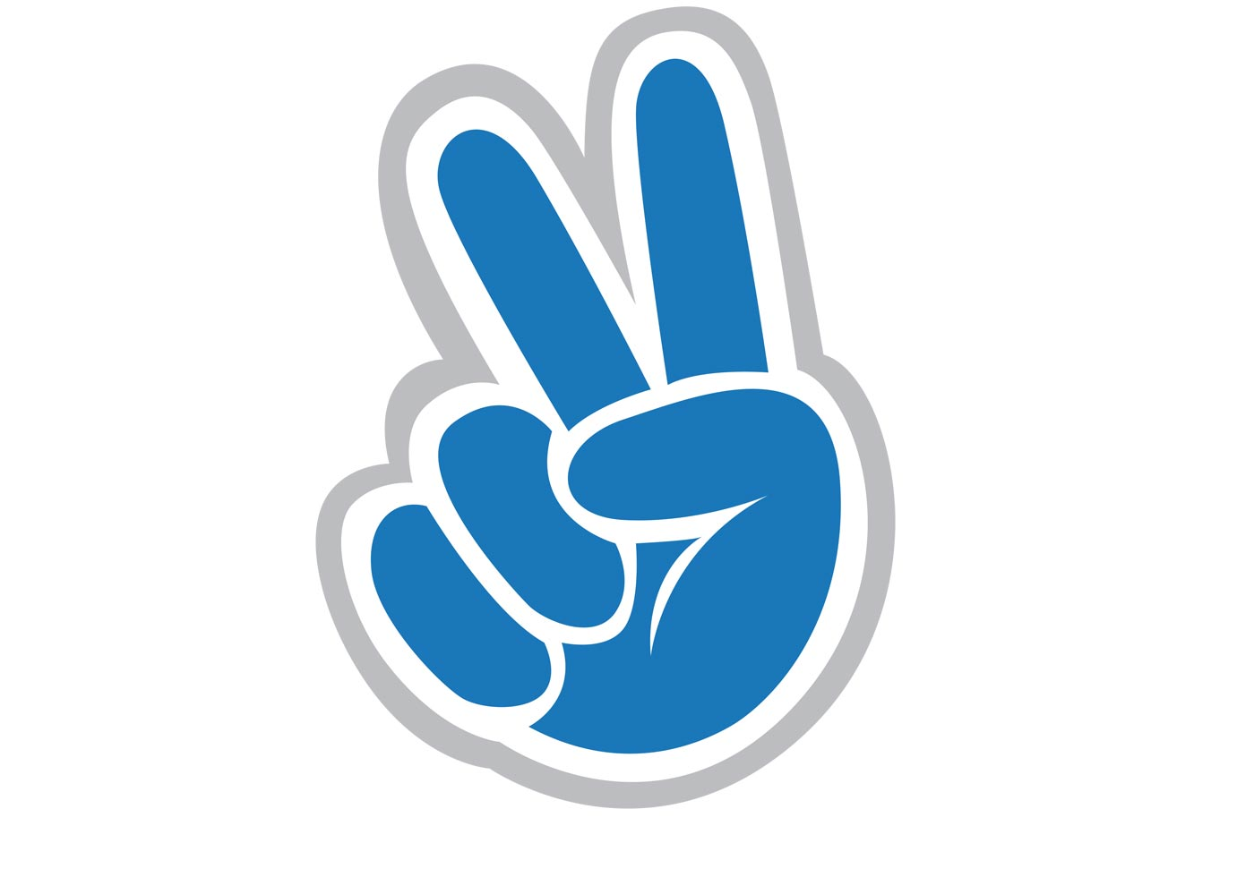 Peace Sign Vector | Free Vector Art at Vecteezy!