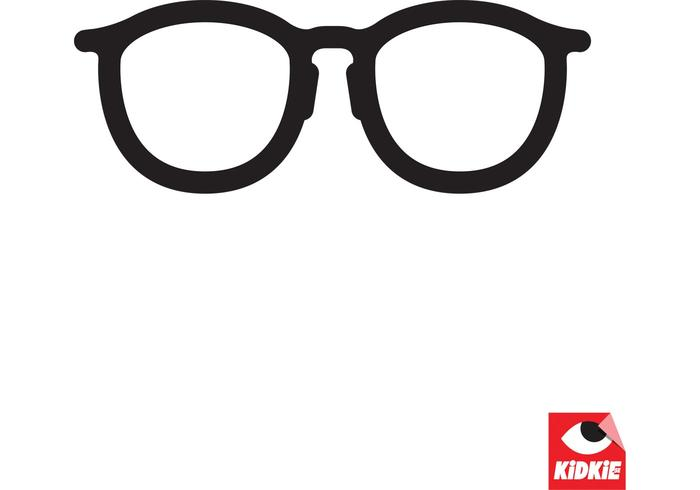Clean Specs Glasses Vector