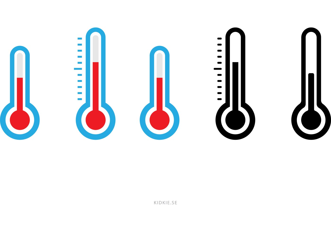 ... Vectors - Download Free Vector Art, Stock Graphics & Images: www.vecteezy.com/miscellaneous/59181-simple-thermometer-vectors