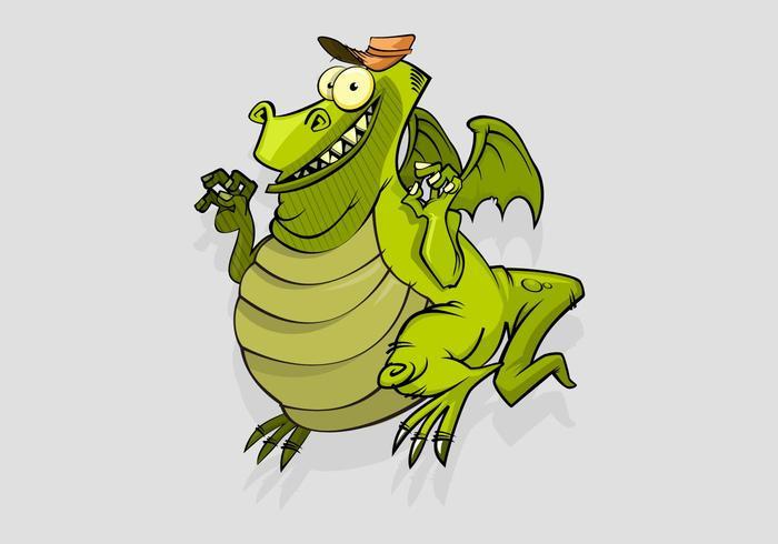 Lizard Vector Cartoon