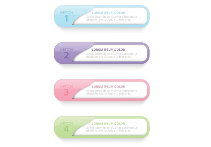 Pastel Pocket Label Vector Pack