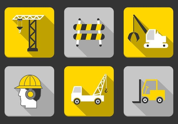 Construction Icon Vector Pack